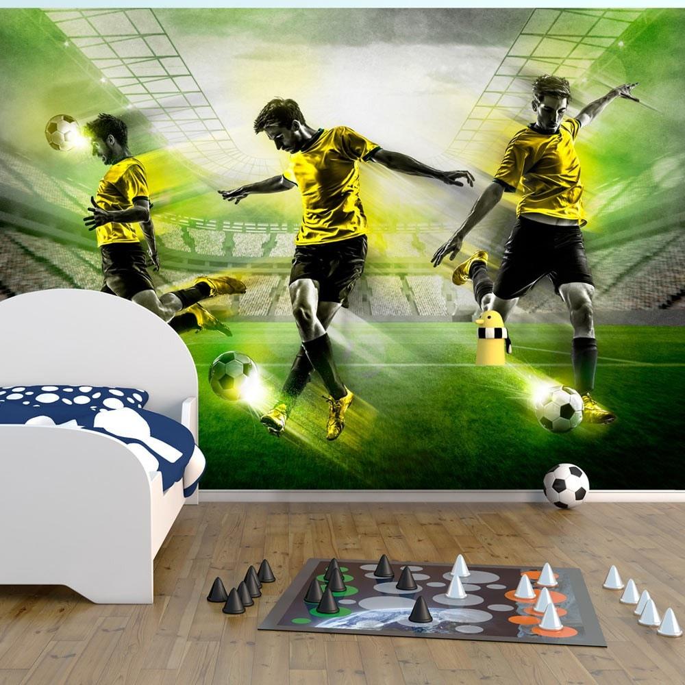 fototapety 3d piłkarskie